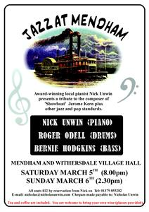 JEROME KERN TRIBUTE – March 2011