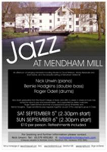 JAZZ AT THE MILL - September 2009